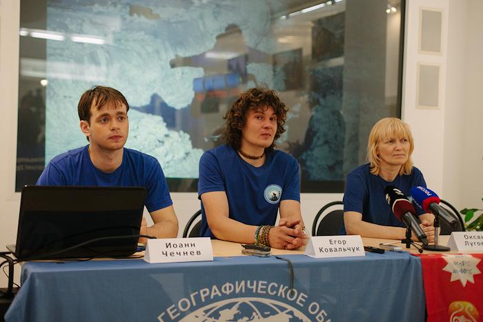 Пресс-конференция по итогам проекта «Дорогами памяти» состоялась в Томске